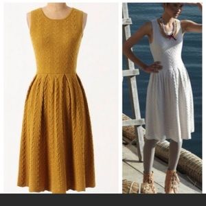 Anthropologie Far Away From Home knit dress